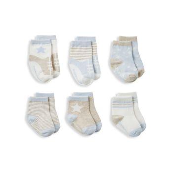 Элегантные детские носки в ассортименте из 6 пар. Для маленьких мальчиков Elegant Baby