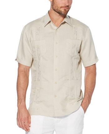 Рубашка Guayabera с короткими рукавами и вышивкой Cubavera