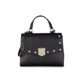 Lockett Leather Top Handle Bag Jimmy Choo