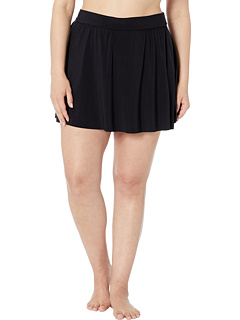 Теннисная юбка большого размера из твердого джерси Magicsuit