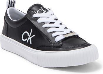 Кроссовки Clariss со шнуровкой и логотипом Calvin Klein