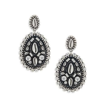 Серьги-капли Spano Swarovski с кристаллами DANNIJO