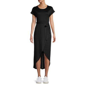 Tulip-Hem T-Shirt Dress STELLAH