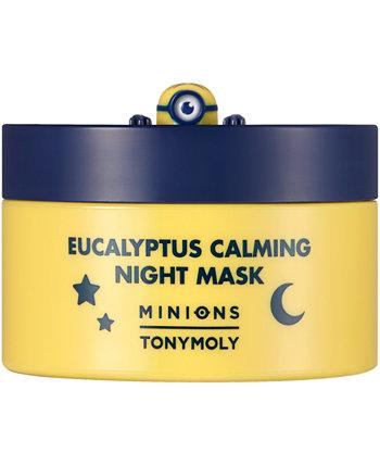 Minions Eucalyptus успокаивающая ночная маска, 2,7 унции. TONYMOLY
