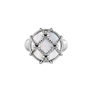 Isola Sterling Silver & amp; Перламутровое кольцо Judith Ripka