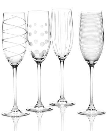 """Флейты """"Clear Cheers"""", набор из 4 шт. MIKASA"""