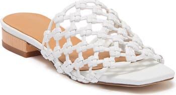 Белые сандалии без застежки Vyalena Napa Paloma Barcelo