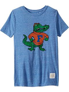 Винтажная футболка с короткими рукавами из трех смесей Florida Gators (Big Kids) The Original Retro Brand Kids