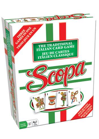 Scopa - традиционная итальянская карточная игра Outset Media