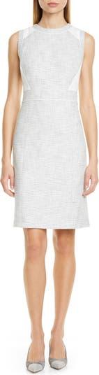 Платье-футляр без рукавов Pareesa CLUB MONACO