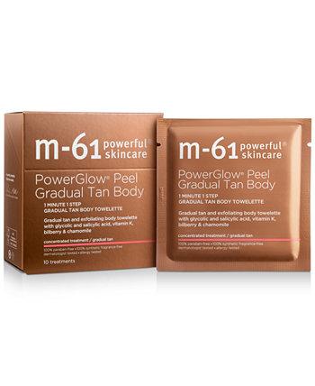 PowerGlow Peel Gradual Tan Body, 10 процедур M-61 by Bluemercury
