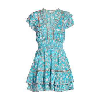 Мини-платье CamilaSmocked Poupette St Barth