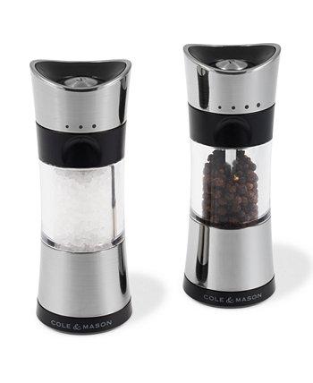 Подарочный набор для мельницы для соли и перца Horsham Chrome 6 дюймов Cole & Mason