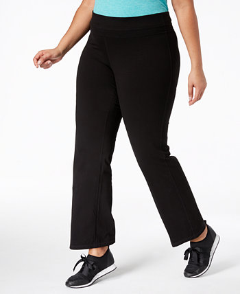 Штаны для йоги больших размеров Flex Stretch Active, созданные для Macy's Ideology