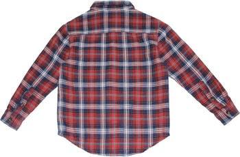 Тканая рубашка на пуговицах BEAR CAMP
