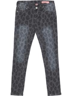 Leopard Printed Five-Pocket Skinny in Multicolor (Big Kids) Blank NYC Kids