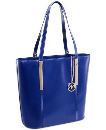 Кожаная сумка-тоут Cristina McKlein