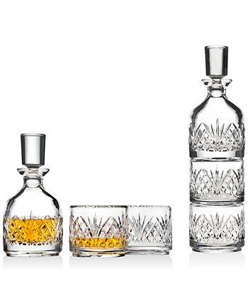Дублинский штабелируемый графин с 2 стаканами Godinger