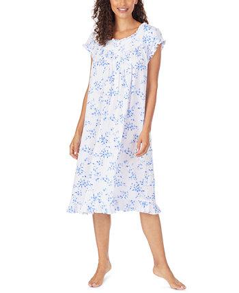 Ночная рубашка Pointelle Waltz с цветочным принтом Eileen West