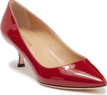 Туфли-лодочки Vitellino Vernice из лакированной кожи Sergio Rossi