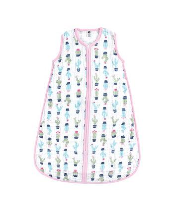 Носимый муслиновый спальный мешок для безопасного сна Hudson Baby