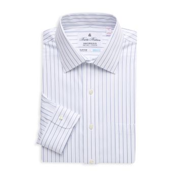 Полосатая классическая рубашка Madison-Fit Brooks Brothers