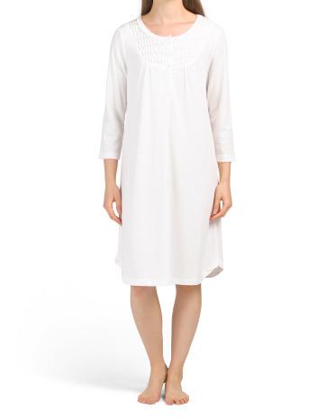 Короткое платье с длинным рукавом Miss Elaine