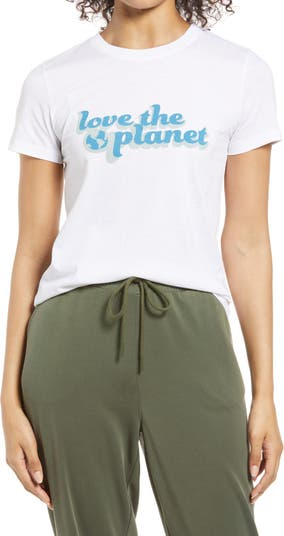 <sup> ® </sup> Футболка с рисунком Love the Planet Halogen