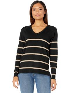 Пуловер с V-образным вырезом Bobeau