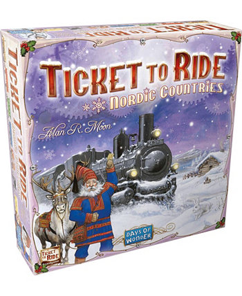 Ticket to Ride Nordic Countries Days of Wonder