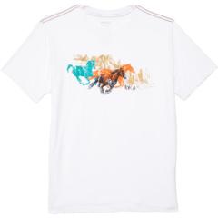 Wyld Horses с коротким рукавом (для больших детей) RVCA Kids