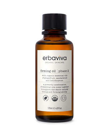Укрепляющее масло, 4 жидких унции ERBAVIVA