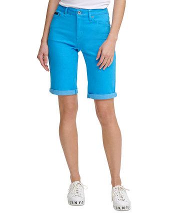 Однотонные шорты-бермуды DKNY Jeans