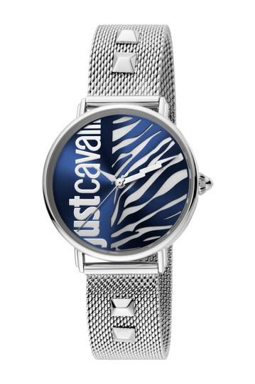 Женские часы и браслет с сетчатым ремешком в виде животных, 32 мм Just Cavalli