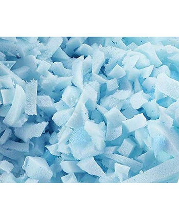 Измельченная гелевая пена с эффектом памяти для регулируемых подушек Nestl Ice - 1 фунт Nestl Bedding