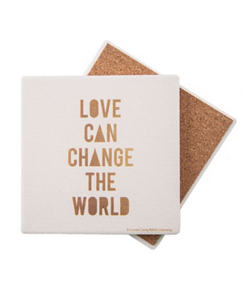 Love Can Change the World Coaster THIRSTYSTONE