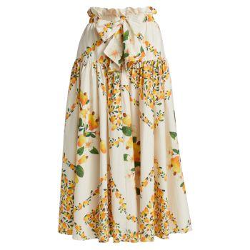Макси-юбка из кешью Farm Rio
