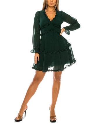 Юниорское платье с оборками B Darlin
