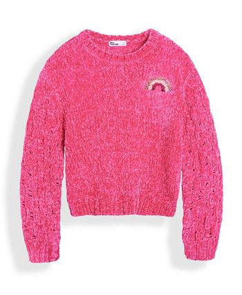 Big Girls Flip Sequin Rainbow Sweater Epic Threads