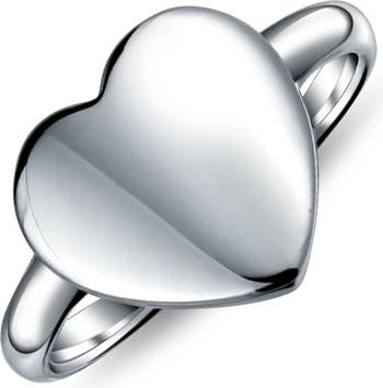 Кольцо в форме сердца из стерлингового серебра Bling Jewelry