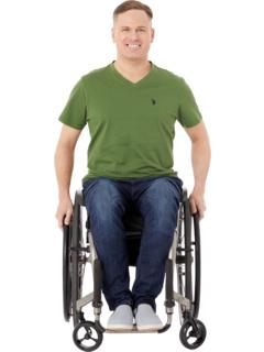 Джинсы облегающего спортивного кроя с застежкой на липучке Micro Velcro® и набедренными карманами цвета Peyre Dark Seven7