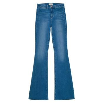 Расклешенные джинсы Joplin с высокой посадкой L'AGENCE