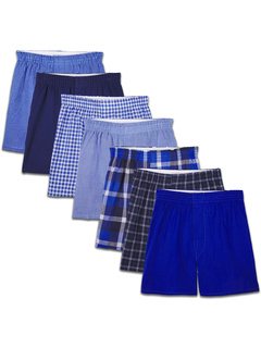 Woven Boxer (Pack of 7) (Little Kids/Big Kids) Fruit of The Loom