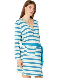 Халат для беременных и комплект подходящего платья / шляпы для беременных KicKee Pants