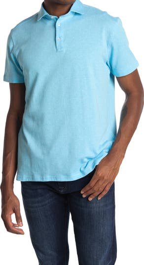 Knit Polo Shirt Stone Rose