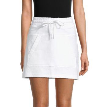 Baja Kangaroo-Pocket Mini Skirt ALALA