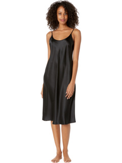Шелковое ночное платье под коленом La Perla