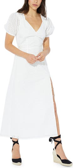 Idalia Cotton Eyelet Midi Dress MINKPINK