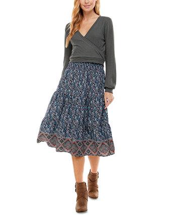 Юниорская юбка с принтом 2 шт. Одеваться City Studios