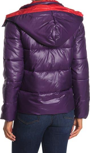 Двухцветная куртка-пуховик KENDALL AND KYLIE